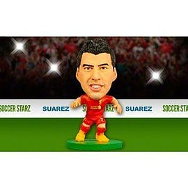 Soccerstarz - Liverpool Luis Suarez - Home Kit Figurines and Sets