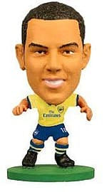 Soccerstarz Arsenal FC Theo Walcott Limited Edition Away Kit Figurines and Sets