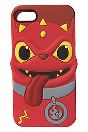 Skylanders Swap Force - iPhone 4 3D Silicone Case - Hot Dog Mobile phones