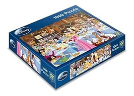 King Disney Tearoom Puzzle (1000 Pieces) Traditional Games