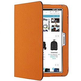10 Galaxy Tab 4 (poly Twill) Orange Tablet