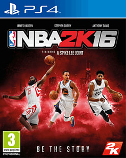 NBA 2K16 PlayStation 4 Cover Art