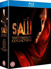 Saw: The Final Cut Edition 1-7 Blu-ray