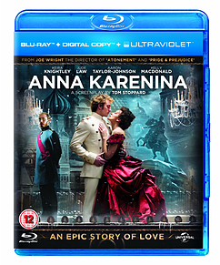 Anna Karenina (Blu-Ray + Digital Copy + Ultraviolet Copy) Blu-ray