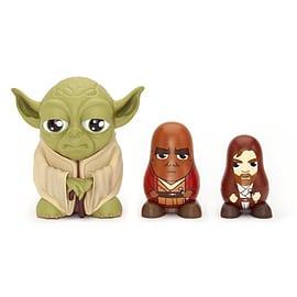 Star Wars Chubby Jedi Yoda/ Mace Windu/ Obi Wan Kenobi Collectable Russian Figurines Set Figurines and Sets