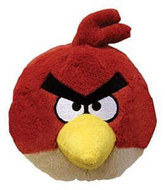 Angry Birds 5-inch Plush with Sound (Red) Soft Toys