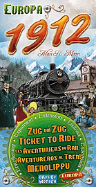 Ticket To Ride Europe 1912 Exp. Traditional Games