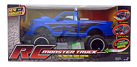 New Bright RC Monster Truck 1:6 (BLUE) Scaled Models