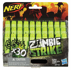 Nerf Zombie Strike Deco Darts Figurines and Sets