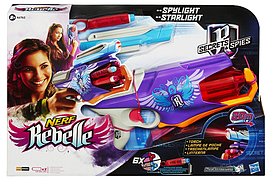 Nerf Rebelle Spylight Figurines and Sets
