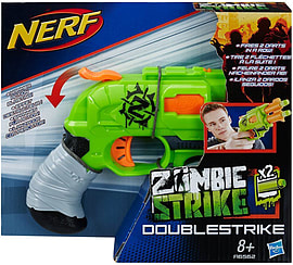 Nerf Zombie Strike Doublestrike Blaster Figurines and Sets