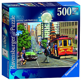 Around The World San Francisco Puzzle (500 Pieces) Traditional Games