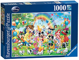 Mickeys Birthday (1000 Pieces) Traditional Games