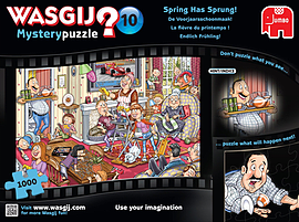 Wasgij Mystery 10 Spring Has Sprung Jigsaw Puzzle (1000 Pieces) Traditional Games