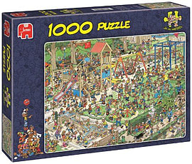 Jan Van Haasteren The Playground Puzzle (1000 Pieces) Traditional Games