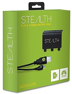Stealth Play and Charge XBOX360