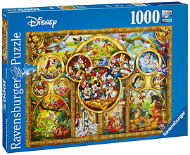 The Best Disney Themes (1000 Pieces) Traditional Games