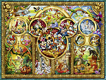 The Best Disney Themes (1000 Pieces) screen shot 1