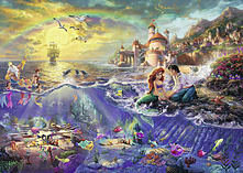 Thomas Kinkade Disney Ariel 1000pc screen shot 1