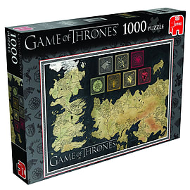Game of Thrones Map of The Known World Jigsaw Puzzle 1000pcs Puzzle Traditional Games
