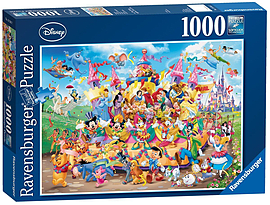 Disney Carnival Multicha, 1000pc Traditional Games