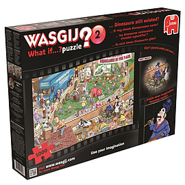Wasgij What if Dinosaurs Still Existed Jigsaw Puzzle (1000 Pieces) Traditional Games