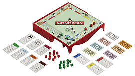 Monopoly Grab and Go Game Traditional Games