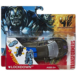 Transformers Age of Extinction Lockdown One-Step Changer Figurines and Sets