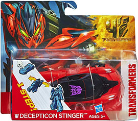 Transformers Age Of Extinction Decepticon Stinger One-Step Changer Figurines and Sets