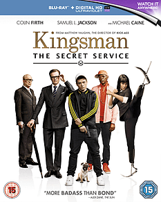 Kingsmen: The Secret Service Blu-Ray