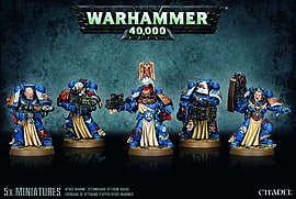 Warhammer 40,000 Miniatures Space Marine Sternguard Veteran Squad Figurines and Sets