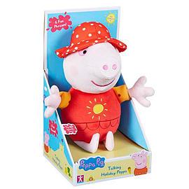 Talking Holiday Peppa Pig Soft Toys