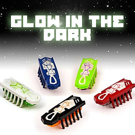 Hexbug Nano Glow in the Dark Figurines and Sets