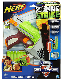 Nerf Zombie Strike Quick Draw Sidestrike Figurines and Sets