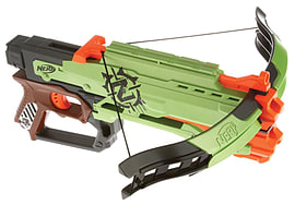 Nerf Zombie Strike Crossfire Bow Figurines and Sets