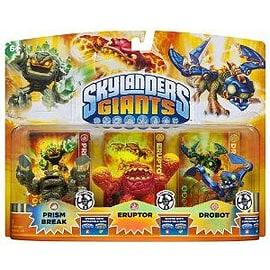 Skylanders Giants LIGHTCORE Triple Pack (Prism Break + Eruptor + Drobot Lightcore) Skylanders