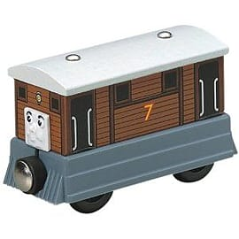 Wooden Thomas and Friends: Toby the Tram Engine Pre School Toys