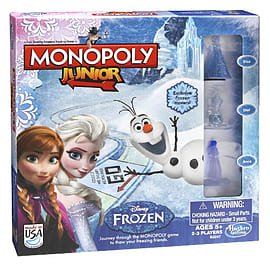 Monopoly Junior Frozen Edition Traditional Games