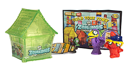 Zomlings Series 2 House Figurines and Sets
