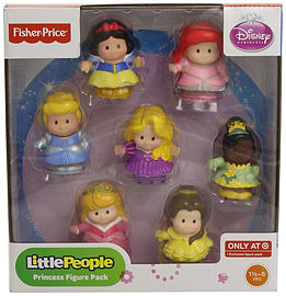 Fisher-Price Little People Disney Princess Figure Pack Pre School Toys
