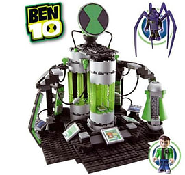 Ben 10 Azmuths Laboratory Construction Set Figurines and Sets