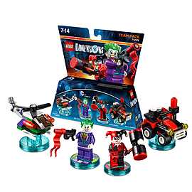 DC Comics Joker and Harley Quinn Team Pack - LEGO Dimensions Toys and Gadgets