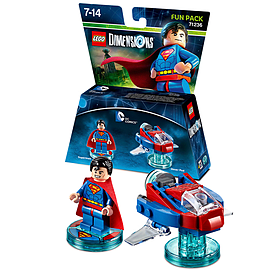 Superman Fun Pack - LEGO Dimensions - DC Comics Toys and Gadgets