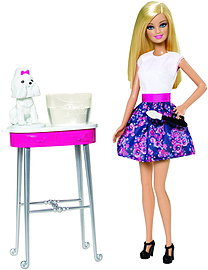 Barbie Colour Me Cute Figurines and Sets