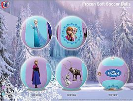 Disney Frozen Soft Soccer Balls Traditional Games