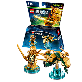 Lloyd (Gold Ninja) - LEGO Dimensions - LEGO Ninjago Toys and Gadgets