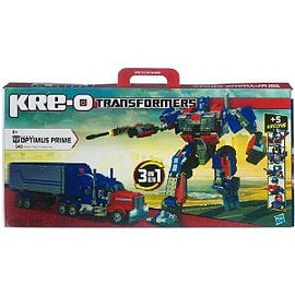 KRE-O Transformers Optimus Prime with Twin Cycles Toy Figurines and Sets