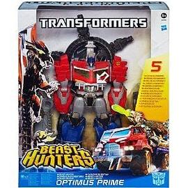 Transformers Prime Beast Hunter Optimus Prime Figurines and Sets