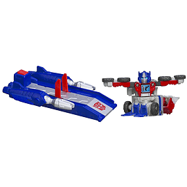 Transformers Bot Shots Launcher Optimus Prime Figurines and Sets