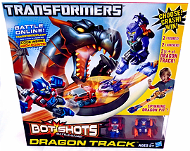 Transformers Bot Shots Track Battle Pack Figurines and Sets